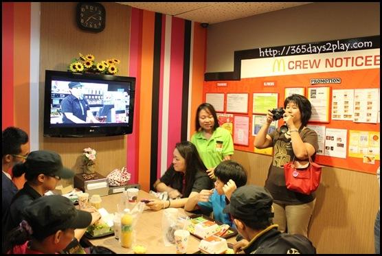 McDonald's - Staff Lounge