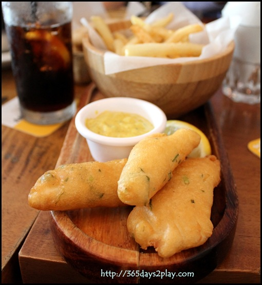 Queen & the Mangosteen - Fish & Chips