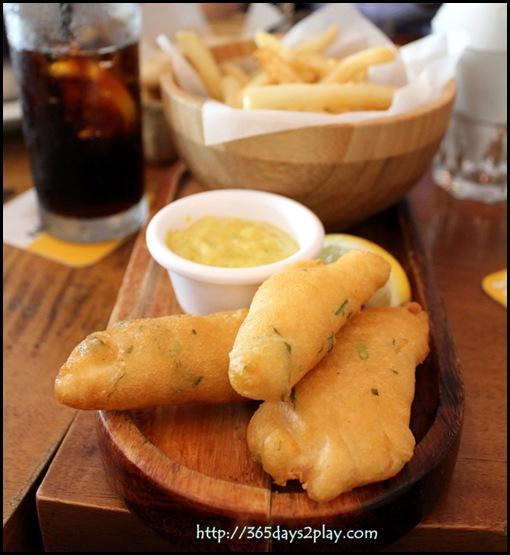 Queen & the Mangosteen - Fish & Chips