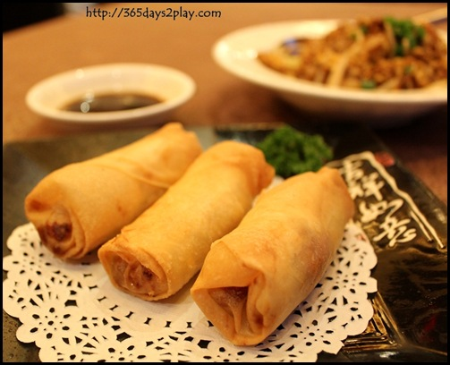 Taste Paradise - Crispy Spring Roll with Smoked Duck Meat
