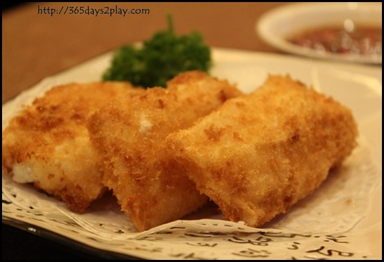 Taste Paradise - Deep Fried Prawn with Mango Roll