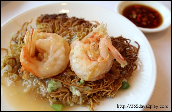 Victoria Peak - Crispy Noodle with Prawns (2)