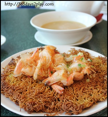 Victoria Peak - Crispy Noodle with Prawns