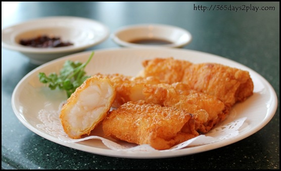 Victoria Peak - Deep fried beancurd skin with prawn