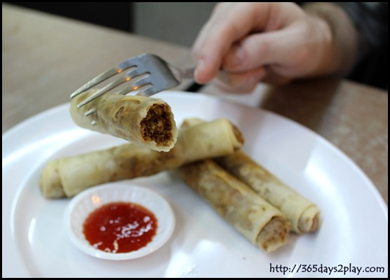 Adobo - Lumpia Shanghai (Minced Meat Spring Rolls) (2)