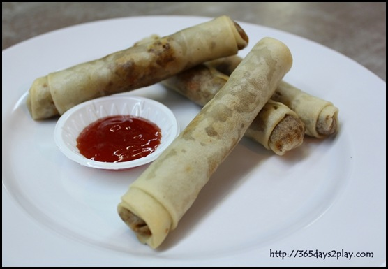 Adobo - Lumpia Shanghai (Minced Meat Spring Rolls)