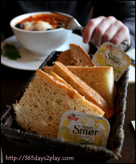 Bryggeloftet - Bread basket