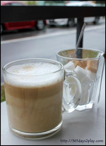 The Garden Slug - Cafe Latte