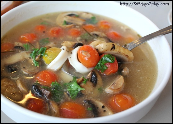 The Garden Slug - Chunky Asian Seafood Broth