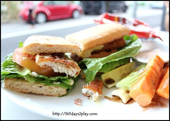 The Garden Slug - Ultimate Fish Sandwich
