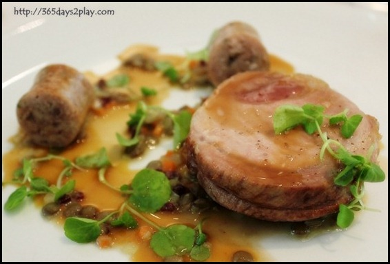 Au Jardin - Roasted Pork Loin