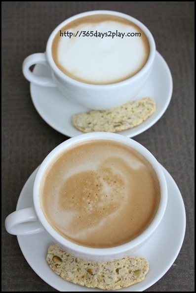 Grand Salads Bistro - Cappucino and Latte