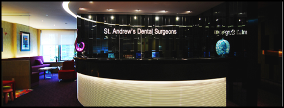 St Andrew's Dental Surgeons - Reception Area