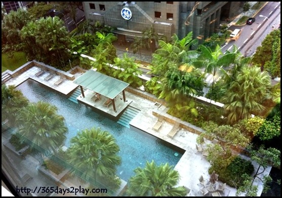 St Andrew's Dental Surgeons - View of Amara Hotel Swimming Pool