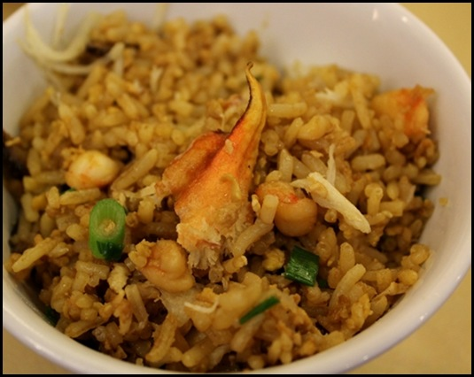 Thai Village @ Leisure Park - Thai Village signature seafood fried rice with crab meat