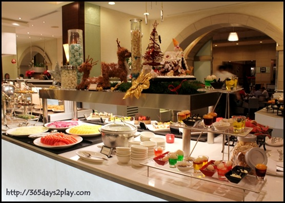 Grand Park City Hall - Dessert Fruit Counter
