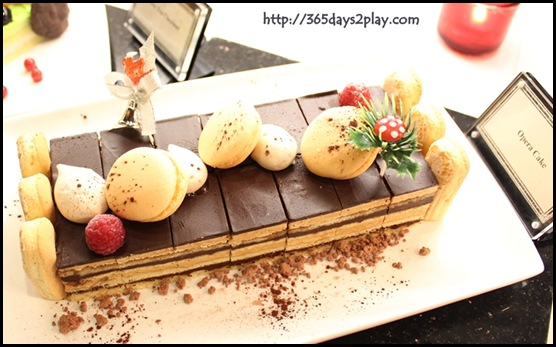 Grand Park City Hall - Opera Cake with Blackcurrant
