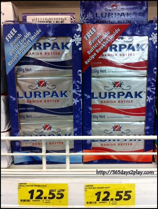 Lurpak Festive 3 in 1 butter pack