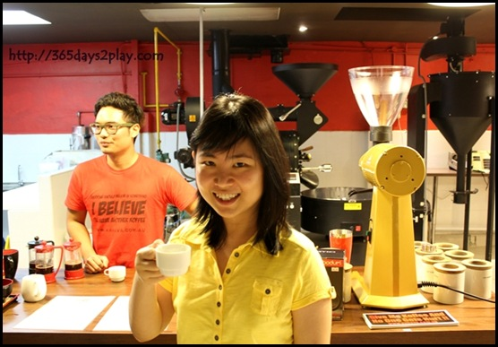 Me at Yahava KoffeeWorks