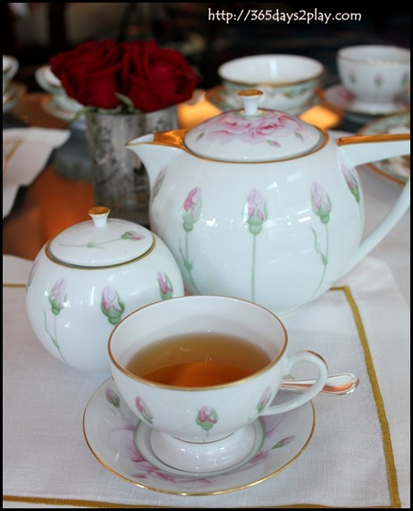 Shangri La Rose Veranda  - Pot of Tea