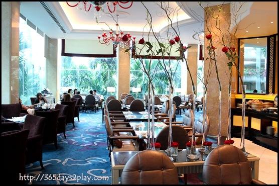 Shangri La Rose Verandah - Seating Area