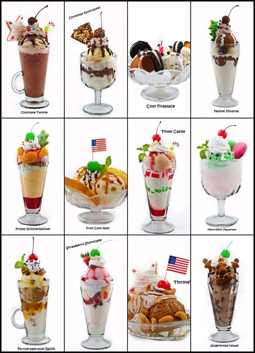 Swensen's 12 Sundaes of Christmas