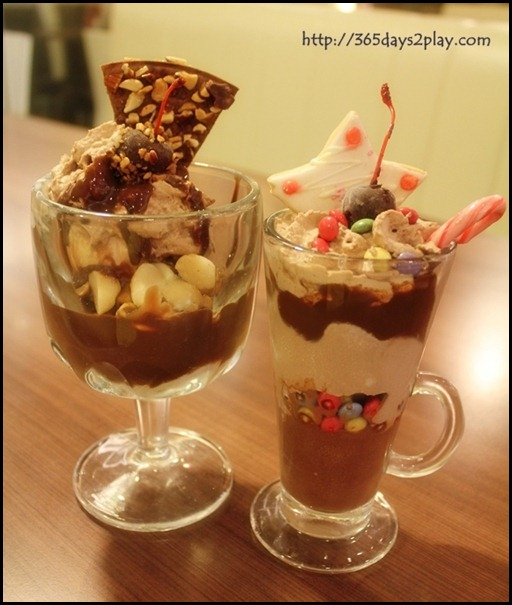 Swensens - Christmas Nutcracker and Christmas Twinkle  Ice Cream