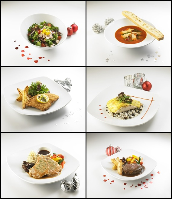 Swensen's 6 Christmas Dishes 2011