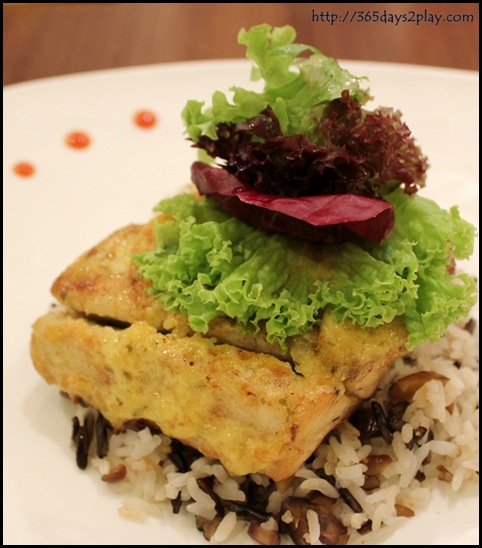 Swensens - Baked Barramundi with Mustard Cream