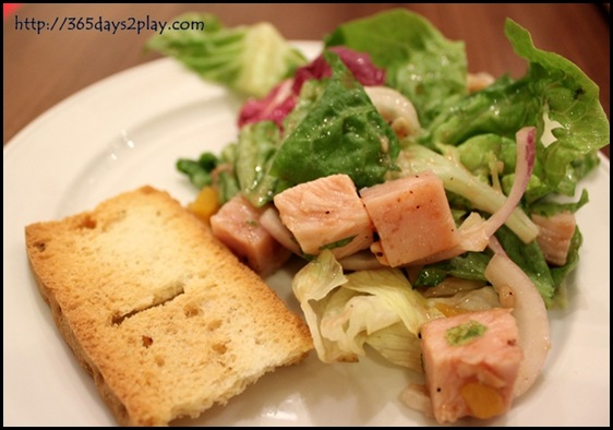 Swensens - Turkey and Chicken Ham Salad
