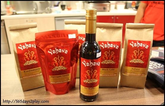 Yahava Koffeeworks - Our Loot