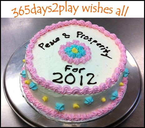 365days2play wishes all Peace & Prosperity for 2012