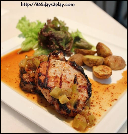 Baci Italian Cafe - Honey Glazed Pork Loin