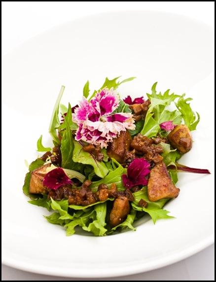 Halia Appetizer - Foie Gras Salad
