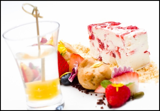 Halia Dessert - Strawberries & Cream, Edible Garden