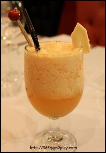 Halia - Ginger Jive - Ice blended fresh ginger, fruit punch, orange & honey