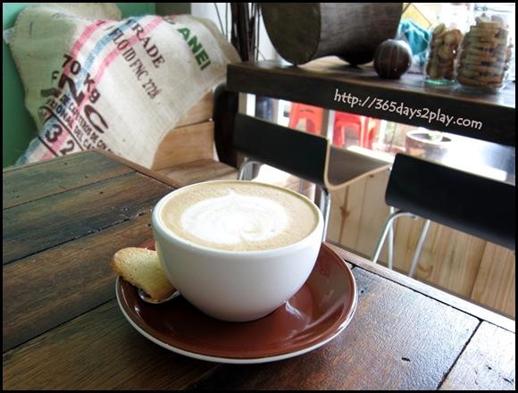 Kooka Cafe - Cafe Latte