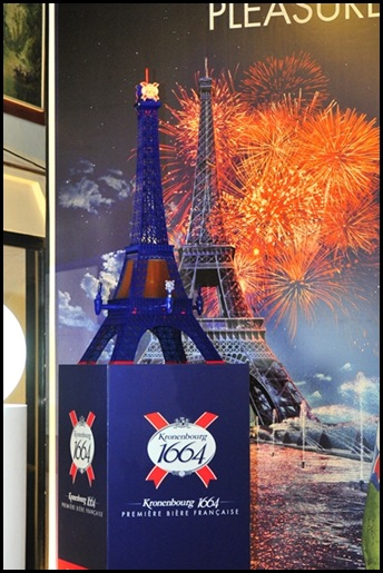 Kronenbourg 1664 3L Eiffel Beer Tower