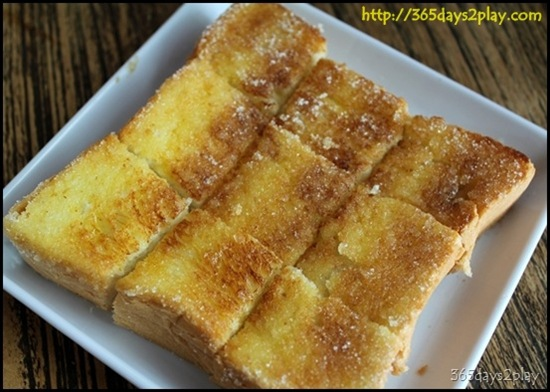 Butter Sugar Thick Toast at ToastBox