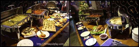 Kronenbourg 1664 Party at Coastal Settlement - Buffet Spread