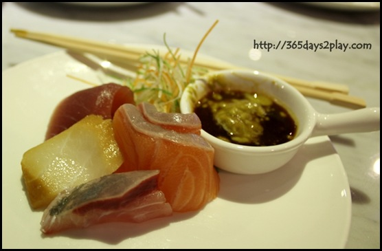 Kronenbourg 1664 Party at Coastal Settlement - Sashimi free flow at the party!