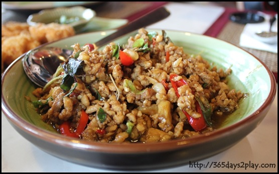 Mai Thai Restaurant - Basil Chicken (2)