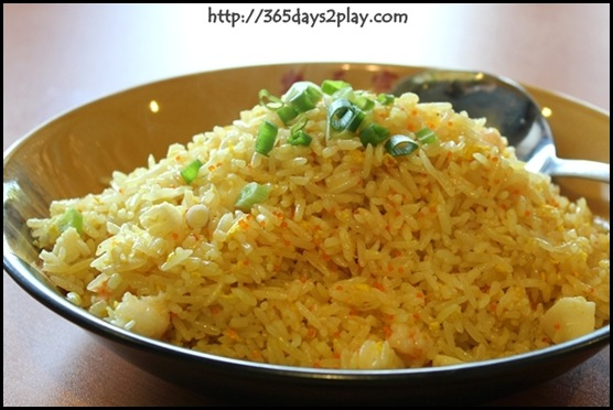 Paradise Inn - Fried rice with prawns and roe (2)