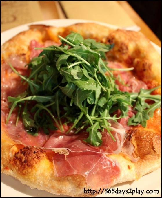 Pizzeria Mozza - Parma ham, Rucola and Mozzarella Pizza (3)