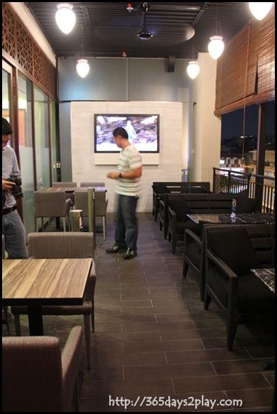 Charly T - Al Fresco Seating Area