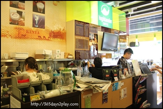 Highlander - Coffee Preparation Area