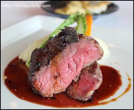 Il Lido - Black Angus Prime Beef Tenderloin with Truffle Sauce