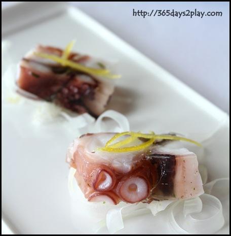 Il Lido Sentosa - Octopus Terrine