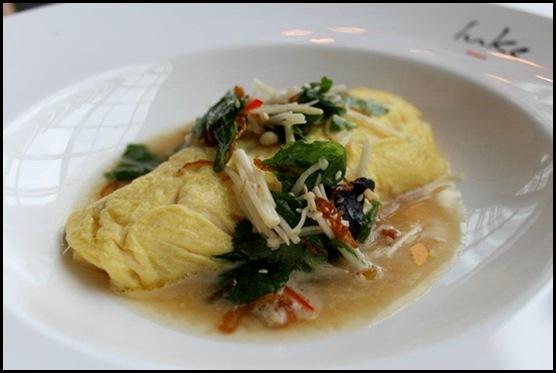 Salt Grill - Crab omelette