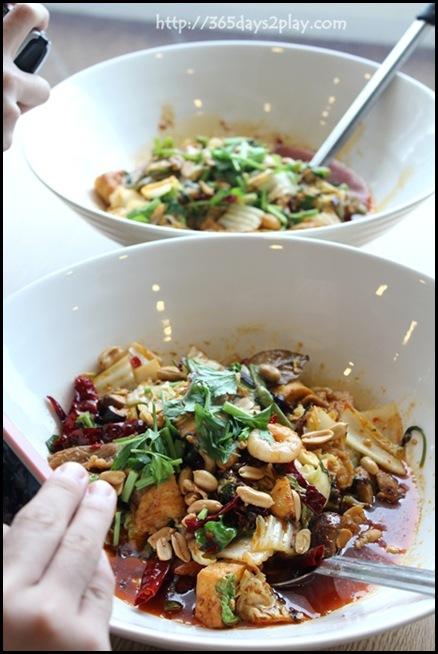 Food Republic @ 112 Katong - Fragrant Hot Pot Stall Hot Pot Ma La Triple Set $21.90